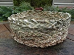 Braided Flag Iris Basket